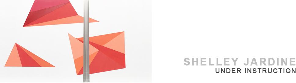 SHELLEY JARDINE | UNDER INSTRUCTION